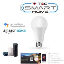 V-TAC SMART HOME VT-5010 LAMPADINA LED WIFI E27 9W A60 DIMMERABILE