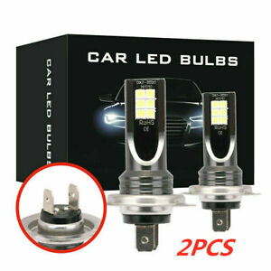 1Pair H7 LED Headlight Conversion 110W-30000LM 6000K Error Free Canbus Bulb 12V.