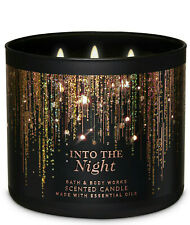 Bath & Body Works Into The Night Three Wick 14.5 Ounces Scented Candle