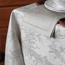 Rechteckige Tischdecken aus Leinenmischung