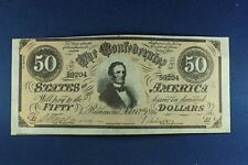 1962 Topps - Civil War News Currency - $50 - Ex+++ Condition