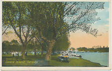 "Canada ca. 1920 very fine used coloured pc ""Centre Island, Toronto"""