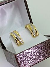 Impressive 18K Yellow Gold & 1.80ct Diamond Cluster Earrings. Valued at $9,000!
