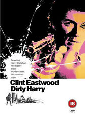 DIRTY HARRY 1971 CLINT EASTWOOD CRIME DVD PAL UK REGION 2 BRAND NEW