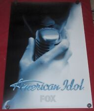 American Idol Vintage Single Sided 27 x 40 TV Series Poster 2004 Promotional FOX