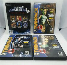 THE LARA CROFT TOMB RAIDER COLLECTION PC GAMES EIDOS 7 DISC BOX SET 1996-2003