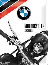 Nostalgic Art BMW Motocycles 1923 lizensiert Classic Logo 30 x 40 BLECHSCHILD #