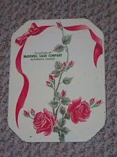 Vintage Advertising Trivet, McDowell Sales Company, McPherson, KANSAS