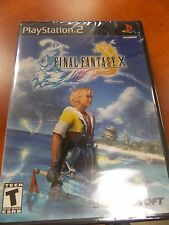 PS2 - Final Fantasy X - Black Label - New and sealed! Free 2 day shipping