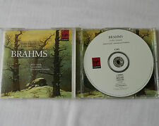 BRAHMS / LAREDO-ROSE-POMMIER Violin & Cello sonatas HOLLAND 2CD VIRGIN  (1998