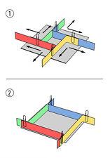 Formbaurahmen Giesskasten Rahmen Formenbau 100mm