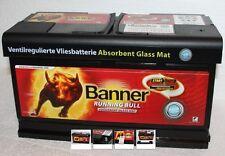 Banner Running Bull 59201 AGM 92Ah 12V Autobatterie Start-Stop/Caravan/Womo
