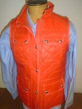 Lauren Ralph Lauren Orange Quilted Vest NWT XL $175