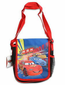 Shoulder Bag Tote Disney Cars McQueen & Friends Lunch Travel NEW