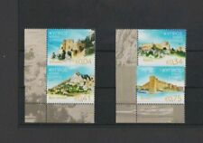 Cyprus 2015 Castles of Cyprus set MNH per scan