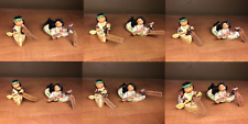 Friends of the Feather 12 Canoe Figurines