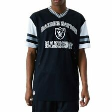 T-shirt New Era Nfl Oakland Raiders Stripe Oversized Black Men