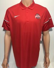 0e9ba3c833a New ListingNEW Ohio State Buckeyes OSU Nike Dry-Fit Coaches Polo Red Men s  Large L NCAA …""