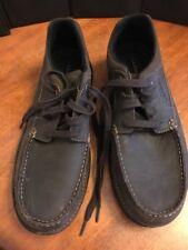 L.L. Bean Men's  Leather Shoes Laces Up Dark Brown Size 13 M