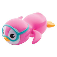 Children/Young Kids Wind Up Swimming Penguin Figure Baby Bathing Toy Pink