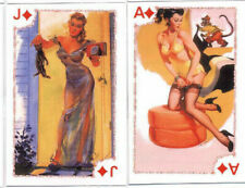 playing cards pin-up girls Kartenspiel nude russian 8