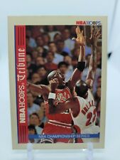 1992-93 Hoops Michael Jordan/ Clyde Drexler Tribune #TR1