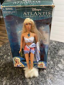 Disney's Atlantis The Lost Empire Crystal Princess Kida Doll Figure