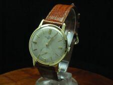 Ulysse Nardin 18kt 750 Gold Handaufzug Herrenuhr mit kleiner Sekunde