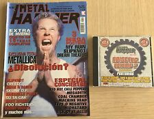 REVISTA METAL HAMMER N 145+ CD NOISE INC. VOL 2 + POSTERS -Rep ( METALLICA )