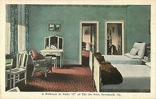 "A View of A Bedroom in Suite ""C"", The De Soto Hotel, Savannah GA"