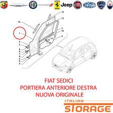 FIAT SEDICI PORTA PORTIERA ANTERIORE DESTRA NUOVA ORIGINALE 71743026