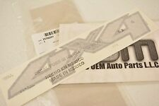 2007-2013 Chevrolet Silverado GMC Sierra 4x4 Bed Side Logo Decal Sticker OEM New