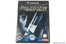 # Golden Eye-Rogue Agent (alemán) Nintendo GameCube juego // gc GoldenEye #