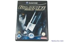 # GOLDEN EYE-Rogue Agent (tedesco) Nintendo GameCube Gioco // GC Goldeneye #