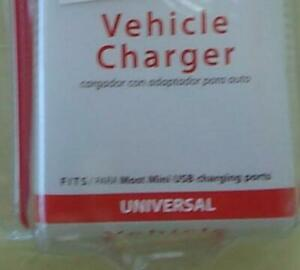 Verizon Wireless Universal Vehicle Charger - Mini USB Port- BRAND NEW IN PACKAGE