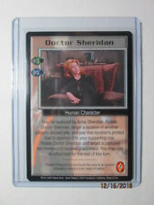 2000 Babylon 5 Ccg - Wheel Of Fire - Rare - Doctor Sheridan