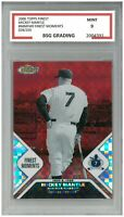 2006 Topps Finest MICKEY MANTLE #MMFM9 Finest Moments 028/250 ~ BSG 9