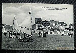 Hardelot (E.STEVENARD CARD) Concours d' Aeropiages Card No. 971  c1920