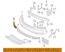 AUDI OEM 01-05 Allroad Quattro-Grille Grill-in Bumper Right 4Z78076823FZ