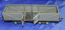JEP échelle O wagon tombereau couleur gris année 50