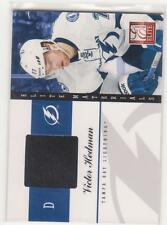 2011/12 Elite Materials Victor Hedman Tampa Bay Lightning game used jersey