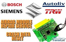 SUZUKI AIRBAG ECU SRS ECU AIRBAG MODULE CRASH DATA RESET REPAIR SERVICE