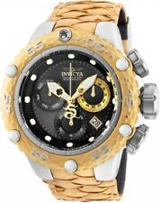 25067 Invicta Subaqua Noma VI Swiss Quartz Chrono Mens 50mm Leather Strap Watch
