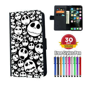Nightmare Before Christmas Jack Flip Phone Case Cover for iPhone Samsung Huawei