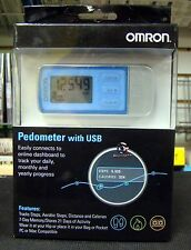 New Omron HJ322U Tri Axis Activity Pedometer HJ-322U USB Download 22 Day Memory