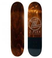 Z-Flex monopatin Skate Skateboard Deck Street Chisel 8.38 blk