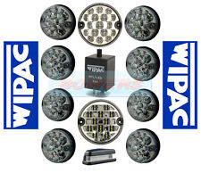 GENUINE WIPAC LAND ROVER DEFENDER COMPLETE CLEAR 11 LED LAMP/LIGHT UPGRADE KIT