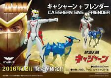 Icarus Toys Aim: Action IN Metall Casshern & Flender Aka Friender