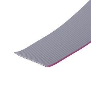 9polig Flachbandkabel AWG28 Kabel Flachkabel 1,27mm grau 1m pro m