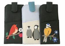 Mala Leather - Womens Soft Leather Robin/Ollie/Skylar Bird Glasses Case